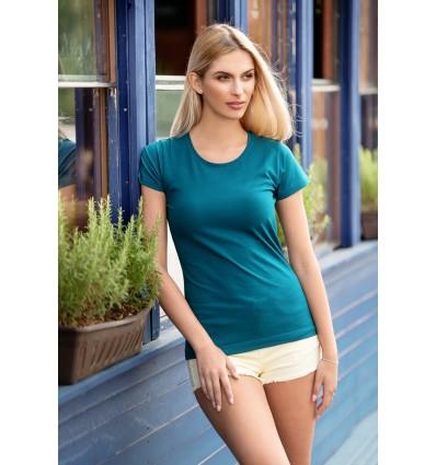 Tricou de damă cu guler rotunjit 150g